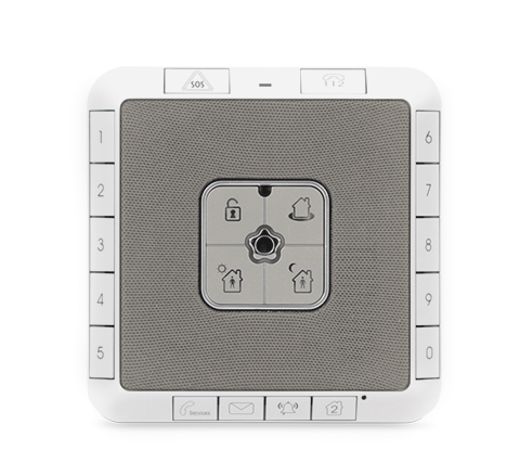 3G Alarm Control Panel